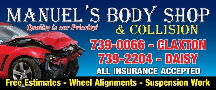 Manuel Collision Center >> Manuel S Body Shop Collision Centers Claxton Ga Home